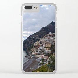 positano Clear iPhone Case