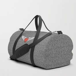 Winged Heart Duffle Bag