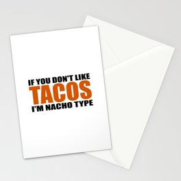 nacho type Stationery Cards
