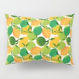 Lemons and Limes Pillow Sham
