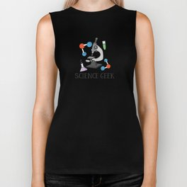 Science Geek Biker Tank