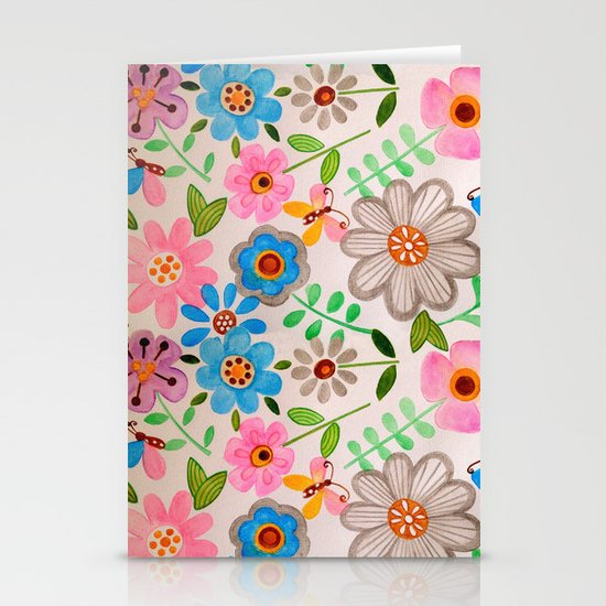 The Garden 2 Stationery Cards