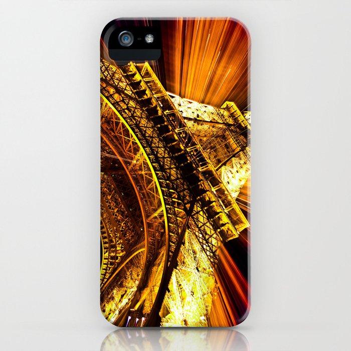 SUPERNOVA EIFFEL II iPhone Case