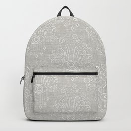 eyes adorned - stone woven Backpack