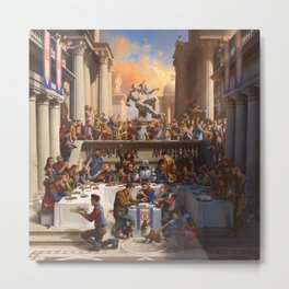 LOGIC---COVER Metal Print