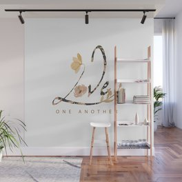 LOVE - one another Wall Mural