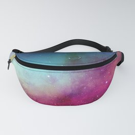 Space Pattern Print Fanny Pack