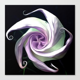 Ode to an Angel Trumpet  Canvas Print
