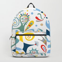 Real Deal white Backpack