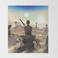 StarWars - Rey Throw Blanket
