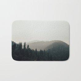 Northern California Forest Bath Mat