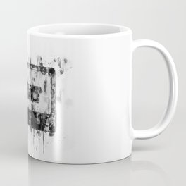 cassette / tape Illustration black and white painting Coffee Mug