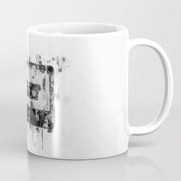 cassette / tape Illustration black and white painting Coffee Mug