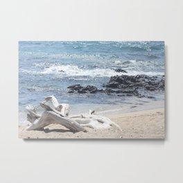 White Beach- Hawaii Metal Print