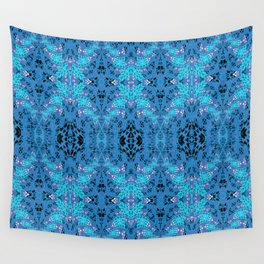 Intricate High Definition Magic Lace Print Wall Tapestry