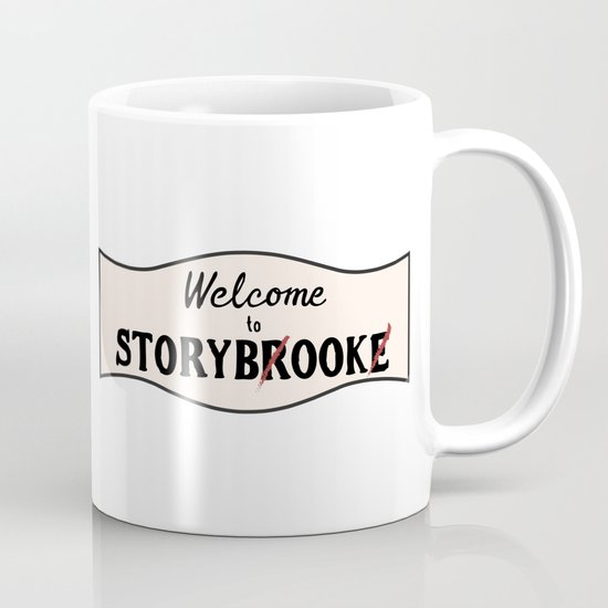 OUAT | Welcome to Storybrooke sign Coffee Mug by clmdesign ...
