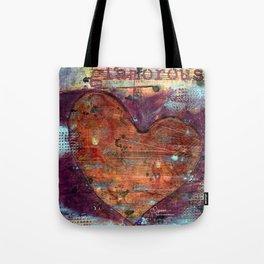 Permission Series: Glamorous Tote Bag