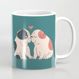 English Bulldog Kisses Coffee Mug