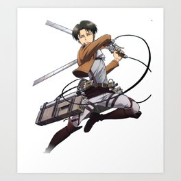 captain levi strike Art Print