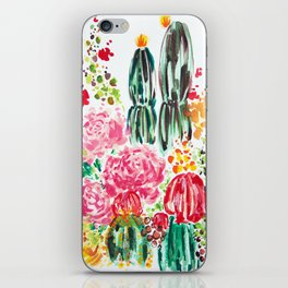 Paige's Garden iPhone Skin