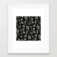 loll3 Framed Art Prints featuring Magical Mystical  by lOll3