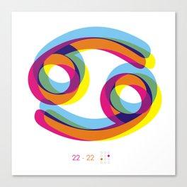 Cancer ~ Zodiac Canvas Print