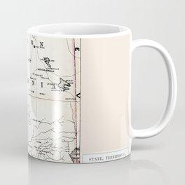 Northern California Map 1866 Coffee Mug