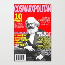 COSMARXPOLITAN, Issue 1 Canvas Print