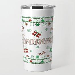 Grammy Christmas Travel Mug