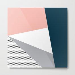 Modern geometry 2 Metal Print