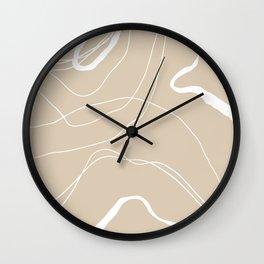 Minimalistic Lines Wall Clock