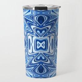 65 - Psychedelic Blues Travel Mug