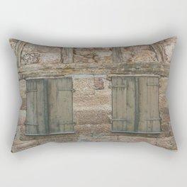 Shut You Out Rectangular Pillow
