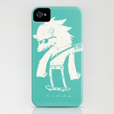 Be a cool wolf, man. iPhone (4, 4s) Slim Case