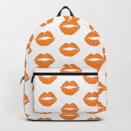 Orange LIps Backpack