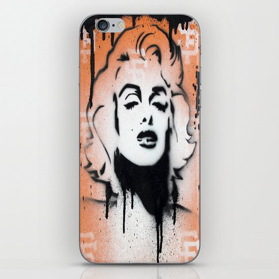 SF Giants x Marilyn Monroe by Adam Valentino  iPhone & iPod Skin
