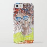 model iPhone & iPod Cases featuring Model by art dun (anup)