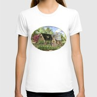 kentucky T-shirts featuring Tudor House on Kentucky Avenue by Shelley Ylst Art