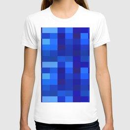 Blue Mosaic T-shirt