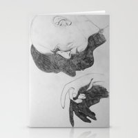 crowley Stationery Cards featuring Mr. Crowley by Bela Zebub