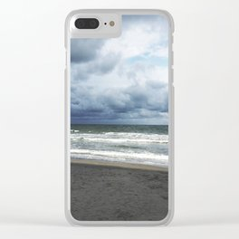 Storm Clouds rolling in Clear iPhone Case