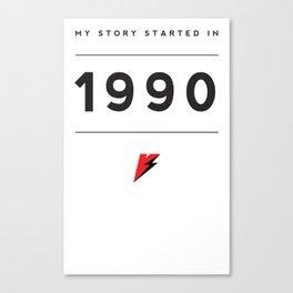My Story Series (1990) Canvas Print