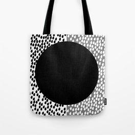 Drops B&W Tote Bag