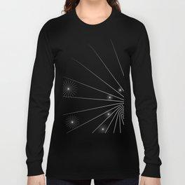 black and white (I) Long Sleeve T-shirt