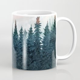 Forest Under the Sunset Coffee Mug