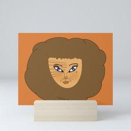 Lion Babe Mini Art Print