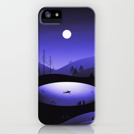 It's Here iPhone Case