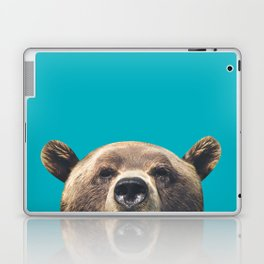 Bear - Blue Laptop & iPad Skin
