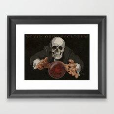 You Voted For Us Framed Art Print