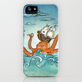 pirates of the caribbean iPhone Case